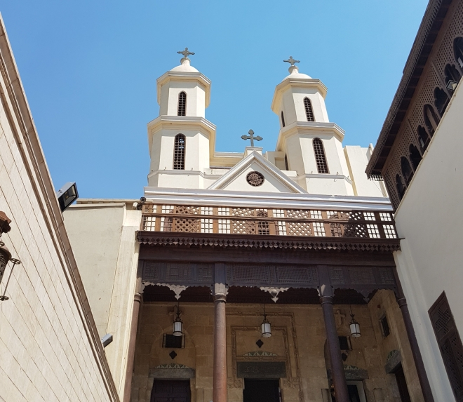 St. Mary's (hanging) church, Old Cairo, summer 2016 (2)