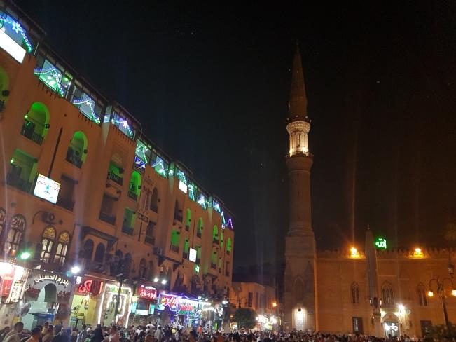 Al-Huessein Mosque and Khan al-khalili Bazaar, Cairo, summer 2016 (1).jpg