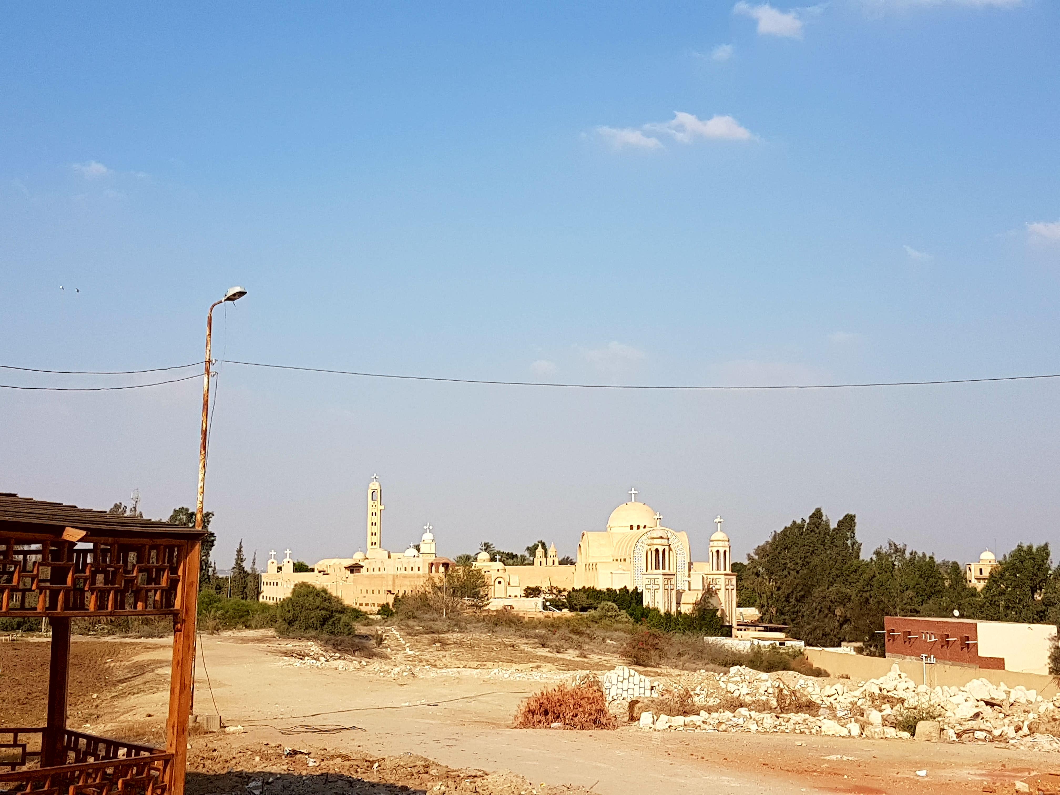 St. Bishoy Monastery, Wadi Natroun, Egypt (Photo by Michael Akladios, 2017)