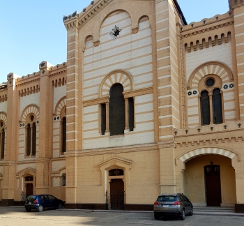 Jesuit center main building, Abassya Cairo, summer 2017