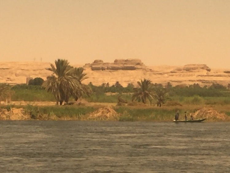 Nile view from Al-Minya